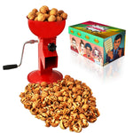 All-Steel Nut Cracker For All Nuts - Easy to Use and Portable - RED