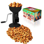 All-Steel Nut Cracker For All Nuts - Easy to Use and Portable - BLACK