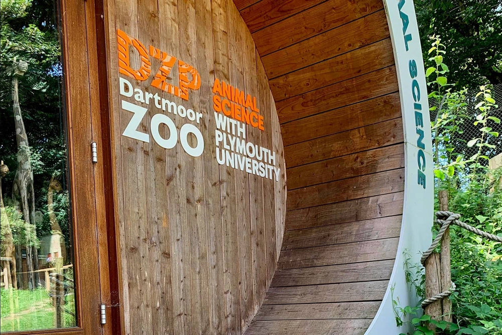 Gripsure Donates Decking to Dartmoor Zoo