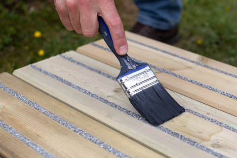 Maintain Decking by Oiling and Staining
