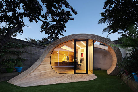 Inspiring Garden Office Idea