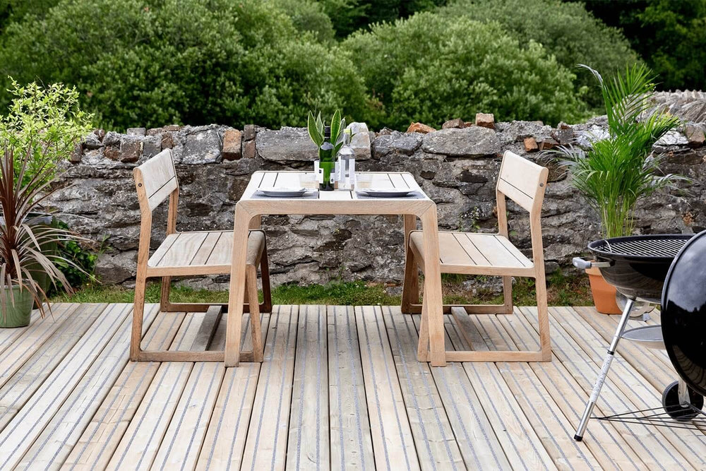 Outdoor Furniture On Garden Decking