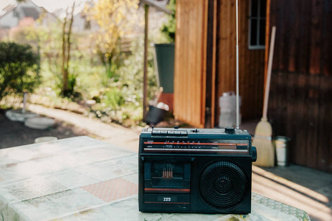 Listen to the Radio Outside