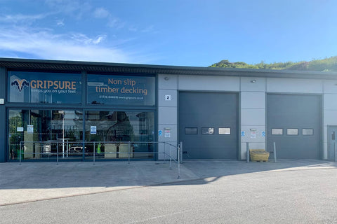 Gripsure office in Cornwall