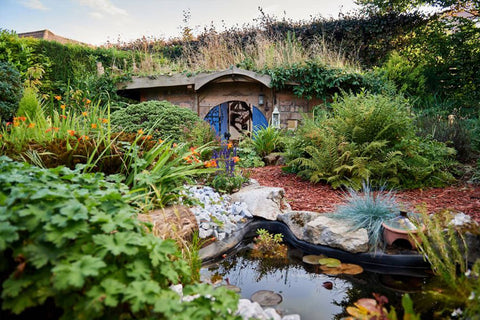 Award-Winning Hobbit-Inspired Shed