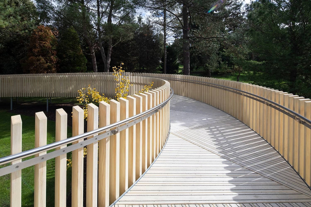 Raised Walkway Using Non-Slip Accoya Decking