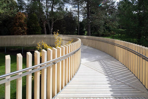 Load image into Gallery viewer, Raised Walkway Using Non-Slip Accoya Decking