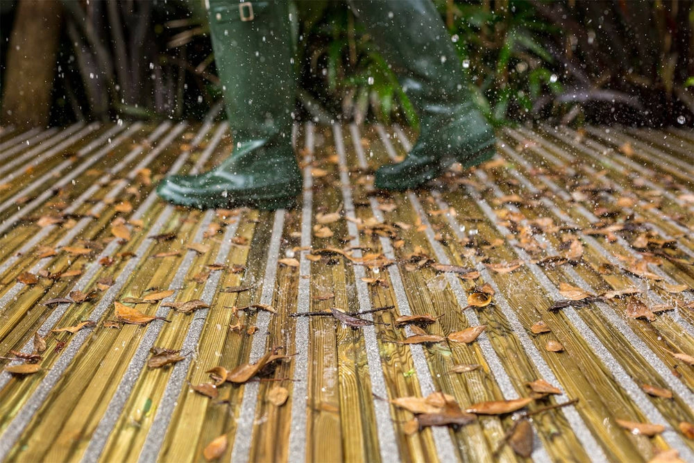 Load image into Gallery viewer, Wellies on Wet Gripsure Home Non-Slip Decking