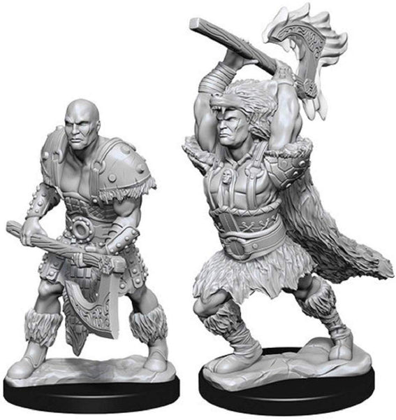 D&D Minis: Wave 10- Male Goliath Barbarian