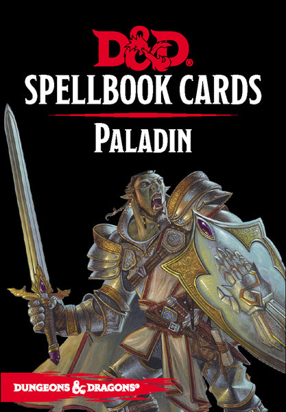 Dungeons and Dragons RPG: Spellbook Cards - Paladin Deck (70 cards)