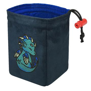 Charmed Creatures Sea Dragon - Embroidered Dice Bag