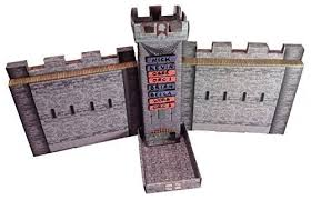 Castle Keep RPG: Dice Tower and DM Screen Combo