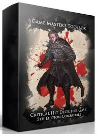 Game Masters Toolbox: Critical Hit Deck for GMs
