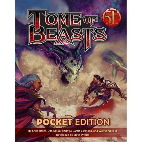 D&D 5th Edition: Tome of Beasts (Pocket Edition)