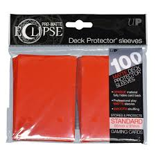 Pro-Matte Eclipse 2.0 Sleeves: Apple Red (100)