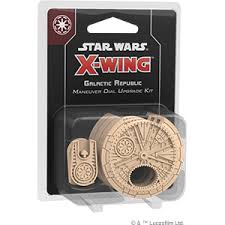 X-Wing: 2nd Edition - Galactic Republic Maneuver Dial Upgrade Kit