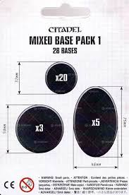 Mixed Base Pack 1 (28 bases)