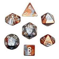 7-Die Set Gemini: Copper-Steel/White