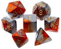 7-Die Set Gemini: Orange-Steel/Gold