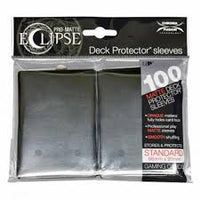 Pro-Matte Eclipse 2.0 Sleeves: Jet Black (100)
