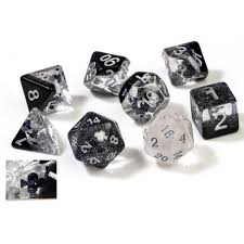 RPG Dice Set (7): Clubs