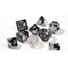 RPG Dice Set (7): Spades