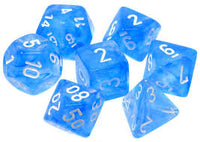 7-Die Set Boreal: Sky Blue/White