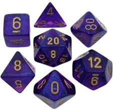 7-Die Set Boreal: Royal Purple/Gold