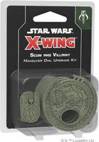 X-Wing: 2nd Edition - Scum and Villainy Maneuver Dial Upgrade Kit