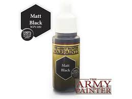 Warpaints: Matt Black