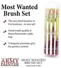 Hobby Starter: Wargamers Most Wanted Brush Set