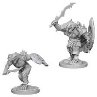D&D Nolzur`s Unpainted Minis: Dragonborn Male Fighter