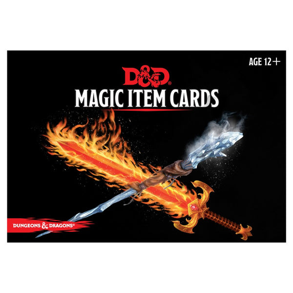 D&D RPG: Magic Item Cards Deck (294 cards)