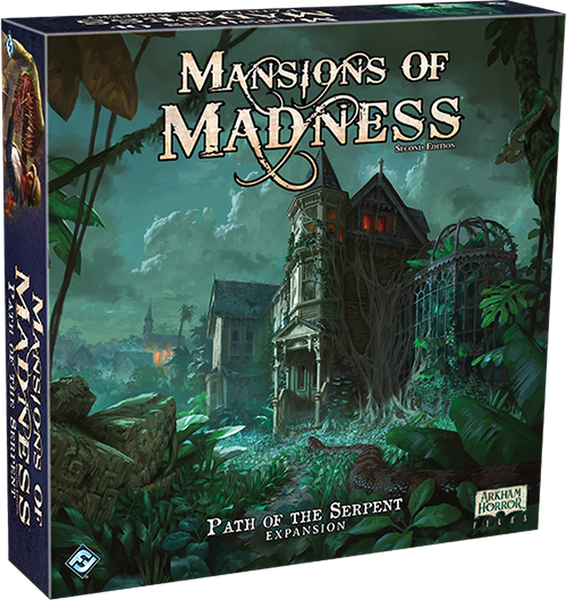 Mansions of Madness 2nd Edition: Path of the Serpent Expansion