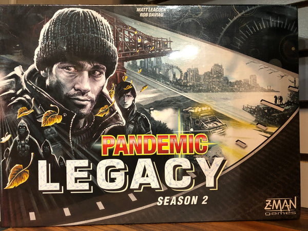 Pandemic: Legacy Season 2 - Black