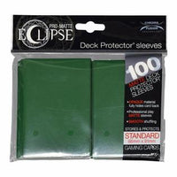 Pro-Matte Eclipse 2.0 Sleeves: Forest Green (100)