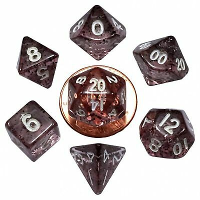 7-Die Set Ethereal: 10mm (mini) Black/White