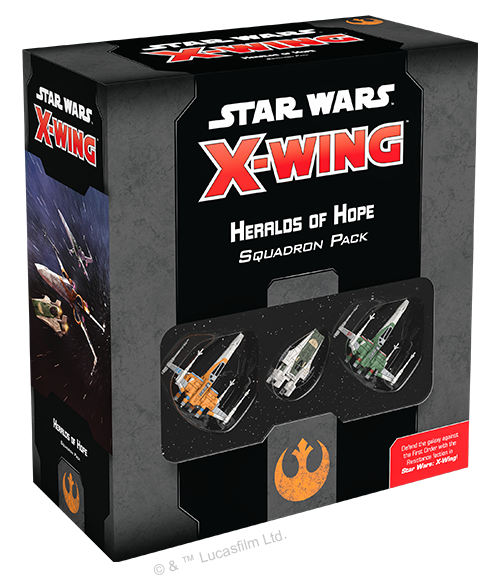 Star Wars X-Wing 2nd Edition: Heralds of Hope Squadron Pack