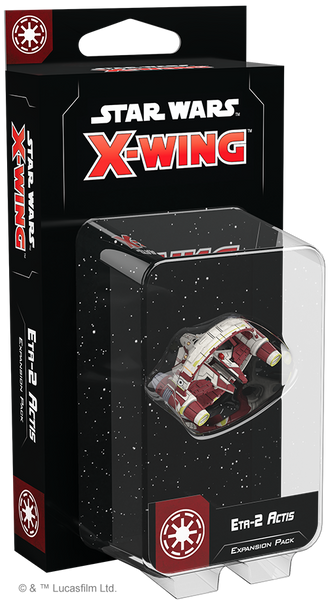 Star Wars X-Wing 2nd Edition: Eta-2 Actis