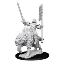 Pathfinder Minis: Wave 7- Orc on Dire Wolf