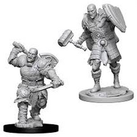 D&D Nolzur`s Unpainted Minis: Male Goliath Fighter
