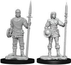 Pathfinder Minis: Wave 10- Guards