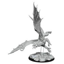 D&D Nolzur`s Unpainted Minis: Young Green Dragon