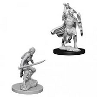 D&D Nolzur`s Unpainted Minis: Female Elf Fighter
