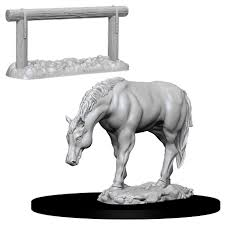 Pathfinder Minis: Wave 10- Horse & Hitch