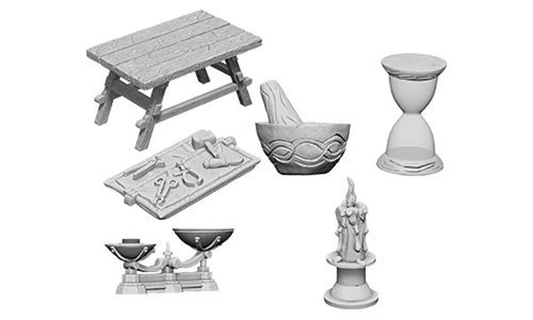 Wizkids Minis: Wave 5- Workbench & Tools