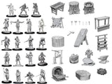 Wizkids Minis: Wave 8- Townspeople & Accessories