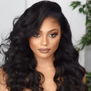 2019 autumn BLACK wave WIG