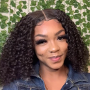 ¡¾Popular Series¡¿Short Curly Bob wig | No work Needed Lace WIG