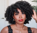 BEST NATural Textured Curly Wig(Buy 1 Get 1 ,Free And Gifts)